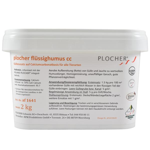 Plocher Fluessighumus cc 2kg