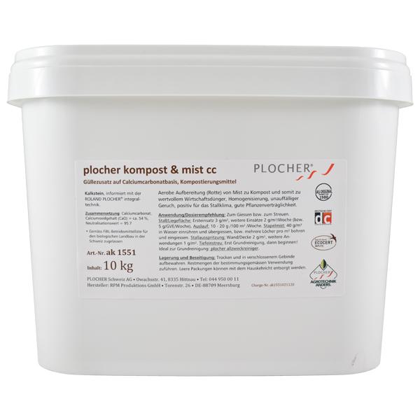 Plocher Kompost Mist cc 10kg