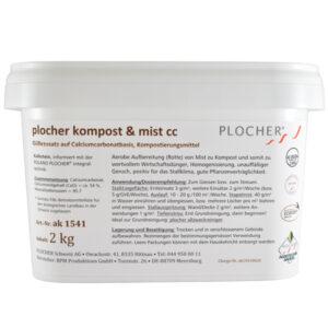 Plocher Kompost Mist cc 2kg
