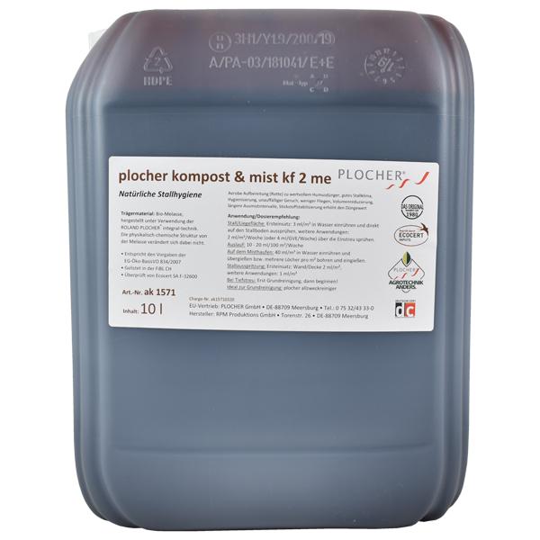 Plocher Kompost Mist kf 2 me 10l