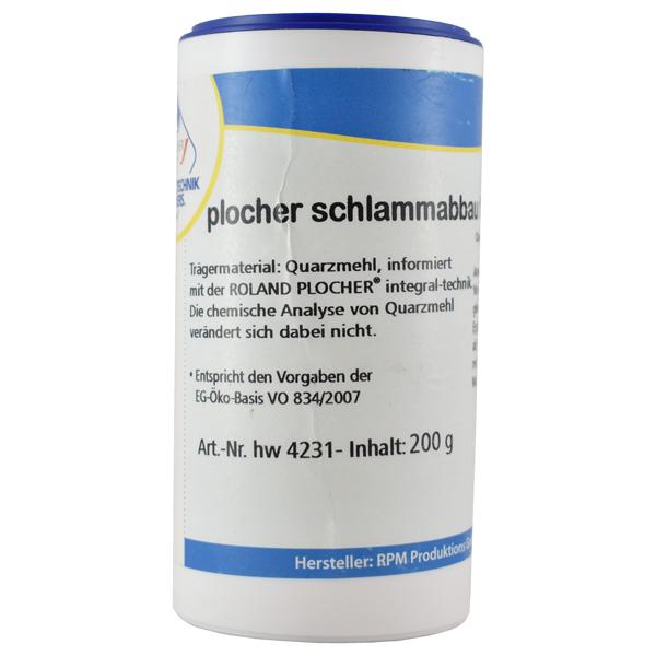Plocher Schlammabbau fuer Gartenteiche cc 200g
