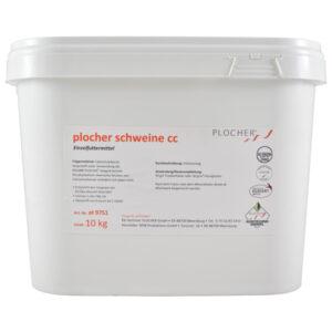 Plocher Schweine cc Einzelfuttermittel 10kg