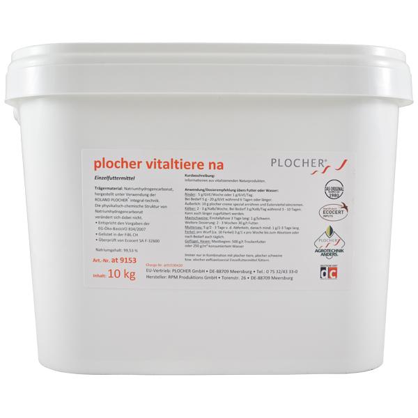 Plocher Vitaltiere na Einzelfuttermittel 10kg