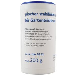 Plocher Stabilisierung fuer Gartenteiche qm 200g