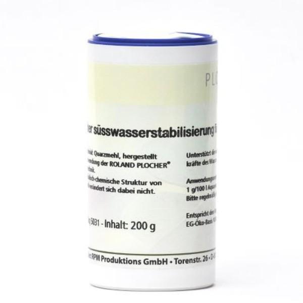 Plocher Suesswasserstabilisierung fuer Aquarien 200 g