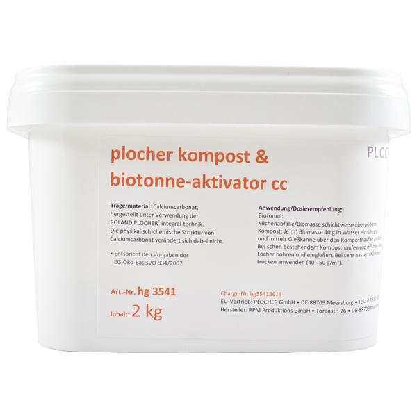 Plocher Kompost Biotonne Aktivator cc 2kg